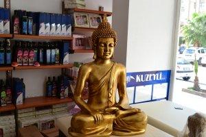 Buda ve Shiva Heykeli